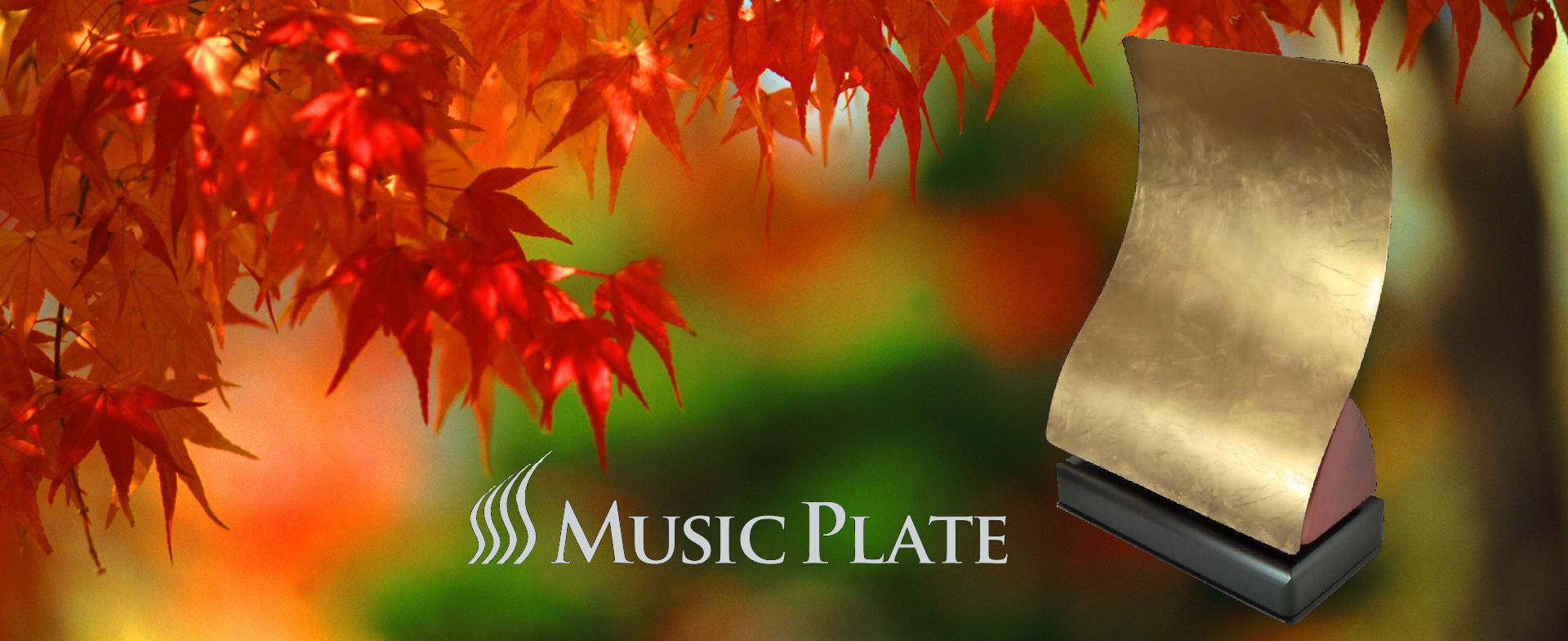 Music Plate TS-1081 gold